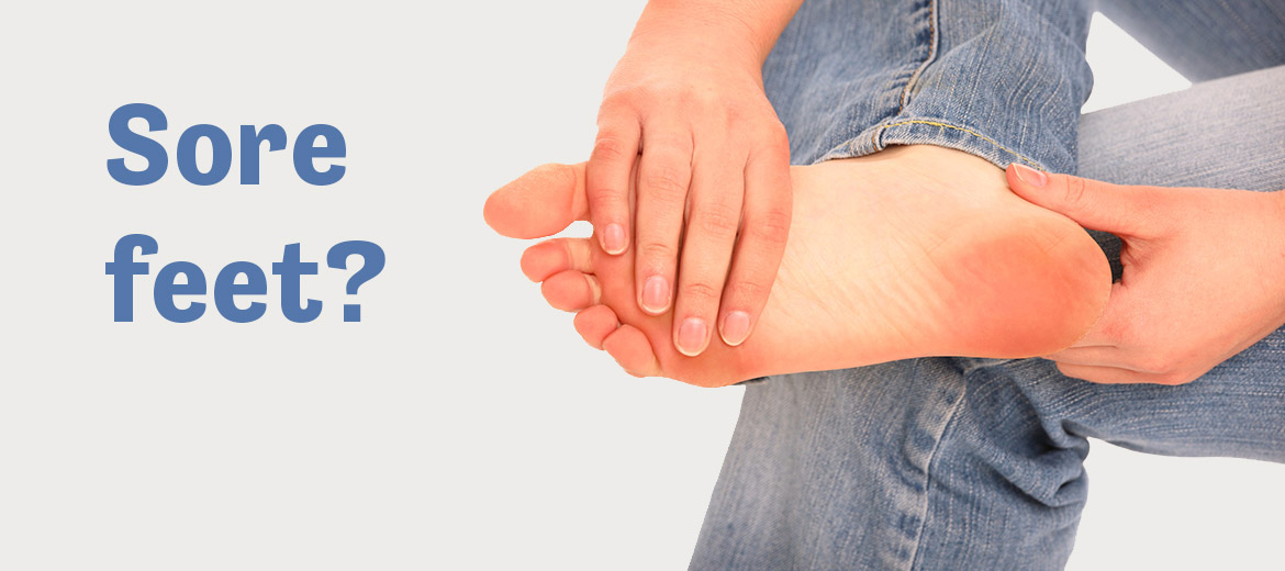 Do you suffer with sore feet? You may have plantar fasciitis.