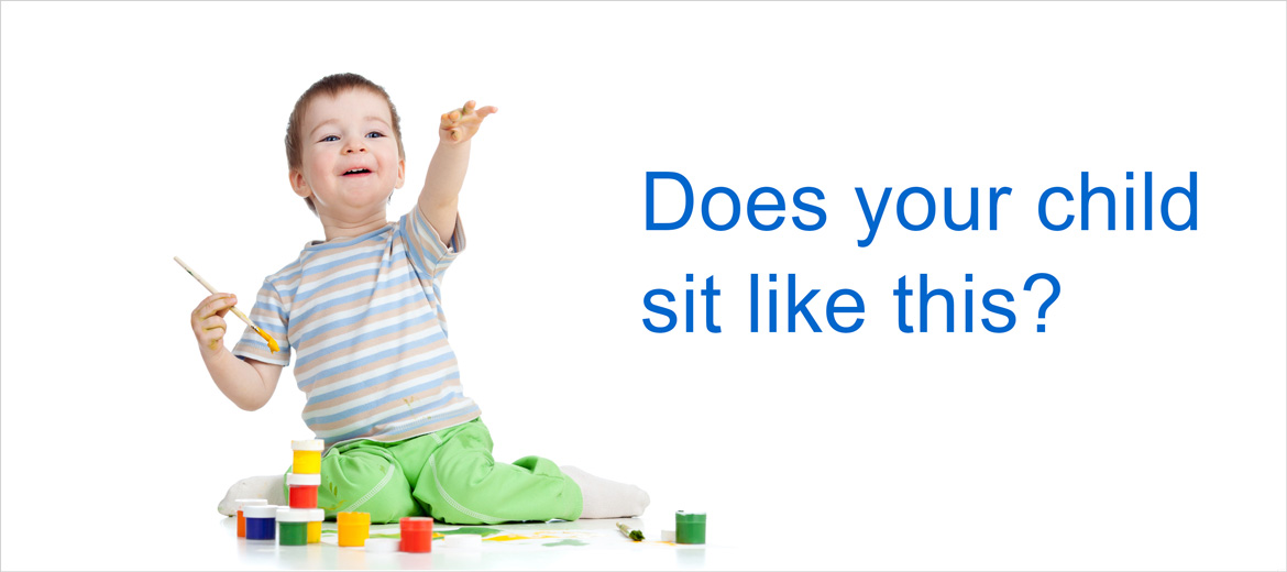 "Is your child ""W""-sitting? Should you be concerned?"
