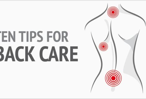 Ten Tips for Back Care [INFOGRAPHIC]