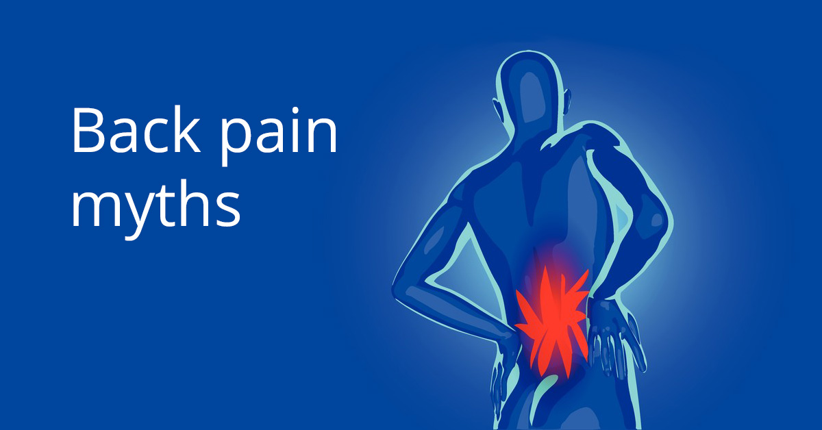 4 common myths about back pain