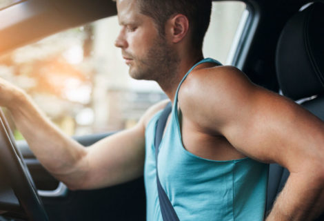 How to minimise and manage discomfort when driving